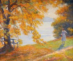 Am.painter   Edward Alfred Cucuel (1875-1954)