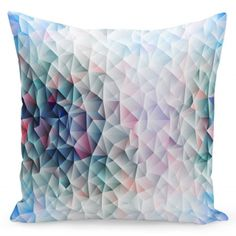 Your place to buy and sell all things handmade Blue Cushion Covers, Pillow Covers, Blue Cushions, Seat Cushions, Decorative Cushions, Blue Grey, Shapes, Throw Pillows, Prints