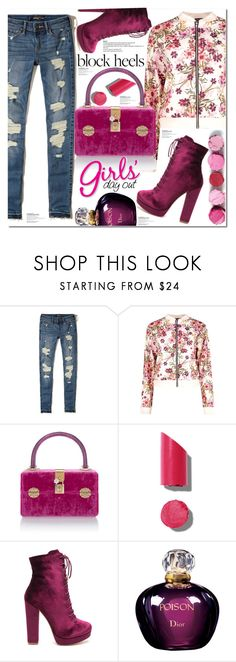 """""""Girl's day out"""" by poopsie-plopsie ❤ liked on Polyvore featuring Hollister Co., Boohoo, Dolce&Gabbana, Chanel and Christian Dior"""