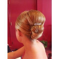 pouf and bun bridal updo hairstyle
