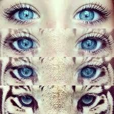 Resultado de imagem para tumblr olhos azuis