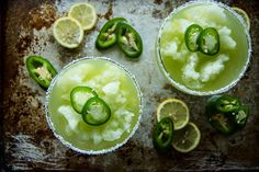 I felt like I needed to save this one for you for Labor Day Weekend. Right? Its frozen and its lemonade and its spicy and it's a margarita. So basically it is the best of like 4 worlds in one drink. I saw this Jalapeno Lemonade by Jerry James Stone of Cooking Stoned on facebook …