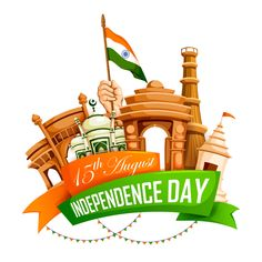 vector illustration of famous monument of india in indian background for august happy independence day of india Essay On Independence Day, Independence Day Drawing, Happy Independence Day Wishes, Independence Day Wallpaper, Independence Day Decoration, 15 August Independence Day, Independence Day Background, Indian Independence Day, Independent Day