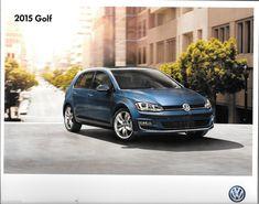 2015 15  VW Golf  oiginal Sales brochure MINT