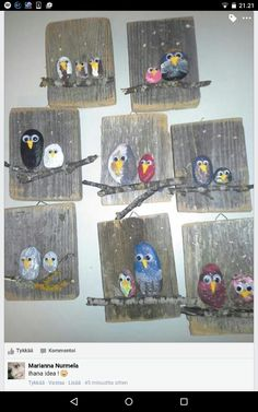 Image gallery – Page 511651207651558657 – Artofit Hobbies And Crafts, Diy And Crafts, Crafts For Kids, Arts And Crafts, Wood Painting Art, Wood Art, Crafty Projects, Art Projects, Forest School Activities