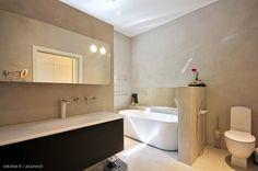 Kylpyhuone mikrosementti