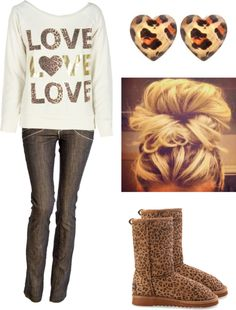 luv everything minus the ugg boots with it