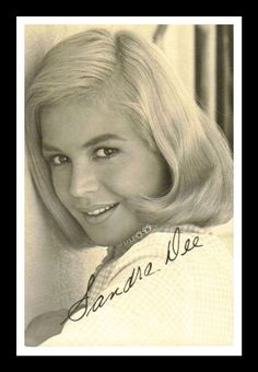 Sandra Dee ~ Married to & Divorced from Bobby Darin