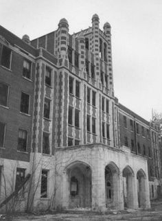 "Located in Louisville, Kentucky, The Waverly Hills Sanatorium is known as one of the ""scariest places on earth"". This creepy place is home to disembodied voices, cold spots, slamming doors, and numerous ghosts that roam the building making it one of America's most reputable haunted places.  http://terrifyingtales.blogspot.com/2007/04/waverly-hills-sanatorium.html"