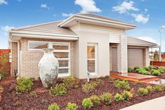 McDonald Jones Homes inspires extraordinary lifestyle possibilities. Visit our display homes in one of our convenient locations. Come home to Extraordinary. Mcdonald Jones Homes, Display Homes, Facade House, Landscaping Ideas, Santorini, Architecture Design, House Plans, Pergola, House Ideas