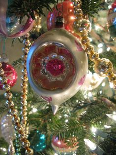 Vintage Ornament, called a witch's eye