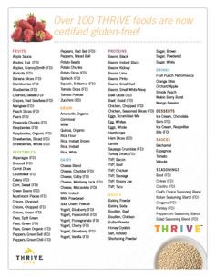 Thrive Life offers over 100 certified #glutenfree Foods.... and it's shipped directly to you from the manufacturer.