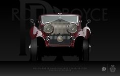Rolls Royce Phantom 1933 by Jan Richter, via Behance