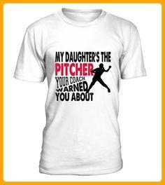 Softball pitcher dad mom - Fan shirts (*Partner-Link)
