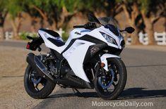 ninja 300 2014 Like the color 2013 Kawasaki Ninja 300, Kawasaki Ninja 500r, White Motorcycle, Motorcycle News, Custom Sport Bikes, Ninja Girl, Kawasaki Motorcycles, Bike Reviews, Hot Bikes