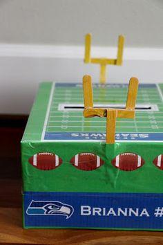 The Contemplative Creative: Seahawks Valentine Box
