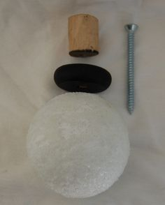 Diy finials for the curtain rods
