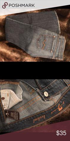 7 for all mankind jeans Medium dark wash bootcut 7 for all Mankind jeans. 7 For All Mankind Jeans Boot Cut