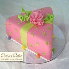 Slice of cake mini cake