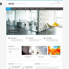 Nevia Responsive MultiPurpose WordPress Theme   Best WordPress Themes Download 2013