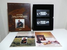 Kevin Costner Dances with Wolves Limited Collectors Edition VHS Sleeved Box Set. 2 VHS, book, 6 prints and a sleeved box. Box shows signs of wear as pictured. Mount Joy, Dances With Wolves, Kevin Costner, Walt Disney Studios, Electronic Media, Wolf, Dancing, Prints, Etsy