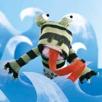 Famished Frog Sock Puppet Tutorial