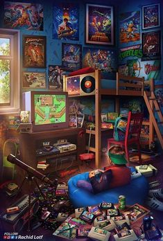 Childhood in the .- Die Kindheit in den Jahren. Childhood in the . Retro Kunst, Retro Art, Wallpapers Android, Gaming Wallpapers, Retro Video Games, Video Game Art, Classic Video Games, Retro Games, Game Wallpaper Iphone