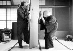 小津 安二郎と母 あさゑ 1956 父の23回忌法要の後、トラトラ