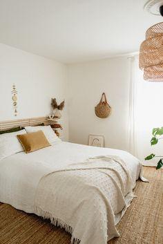 Cozy Neutral Bedroom — Miss Jess Craven Neutral Bedroom Decor, Neutral Bedrooms, Attic Bedrooms, Master Bedrooms, Oak Bedroom, Bedroom Red, Ikea Bedroom, Bedroom Stuff, Ikea Headboard