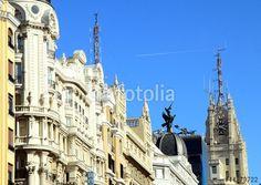 """Laden Sie das lizenzfreie Foto """"Madrid"""" von liboriop zum günstigen Preis auf Fotolia.com herunter. Stöbern Sie in unserer Bilddatenbank und finden Sie schnell das perfekte Stockfoto für Ihr Marketing-Projekt!"""