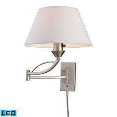 ELK Lighting (17016/1-LED) Elysburg 1-Light LED Swingarm