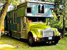 The Ellen Mary Carter. A Beautiful Victorian Home On Wheels And A Bluegrass And Gospel Band Tour Bus