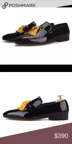 f90968ed1a40c Men Black Leather Loafers Sizes 6-17 Nanaloafers Shoes Loafers & Slip-Ons