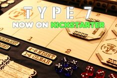 After months of work Type 7 is now on Kickstarter and speed up with full throttle😁 Full Throttle, Raise Funds, Warfare, Board Games, Type, Projects, Log Projects, Blue Prints, Tabletop Games