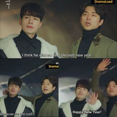 Goblin and Grim Reaper ep 10 Goblin Kdrama Funny, Goblin Funny, Boys Over Flowers, Grim Reaper Goblin, Goblin The Lonely And Great God, Korean Drama Funny, Goblin Korean Drama, K Drama, Yoo In Na