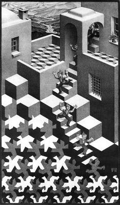 1938 Cycle. мауриц корнелис эшер