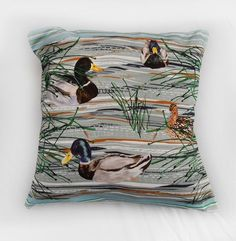 Duck weave cushion cover