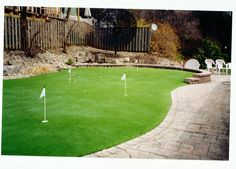 A putting green in the yard would be nice. I don't golf nearly as much as I used to and a green to practice on would rock.