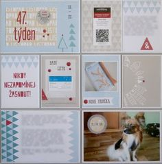 Project life 2015 - 47. týden (levá strana) Project Life, Relax, Frame, Projects, Design, Home Decor, Picture Frame, Log Projects, Blue Prints
