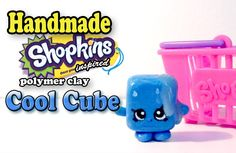 How To Make Shopkins Cool Cube Polymer Clay Tutorial