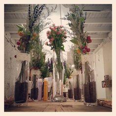 Flores. Centros silvestres. Ramo campestre.Tagadecoracion.com