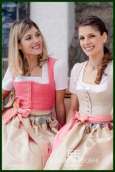 Tradition trifft Zeitgeist bei einem Elisabeth Eugeni Dirndl Oktoberfest Outfit, Baby Dirndl, German Women, Full Skirts, People Photography, Country Girls, Tulle, Austria, Casual