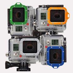 Tuff-Bevel Aluminium GoPro Lens Cover – $13 #gopro #lens #cover #aluminum #accessory #gadget