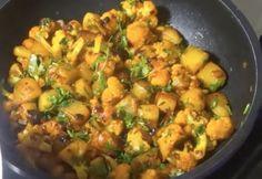 Aloo Gobi, Sprouts, Potato Salad, Potatoes, Vegetables, Ethnic Recipes, Minden, Food, Potato