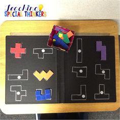 Lots of ideas for workboxes, math centers, fine motor skills centers                                                                                                                                                     More