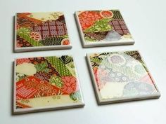 How to Make Coasters - Warning! Read this before you make ceramic tile coasters Thanks for this post. how to make tile coasters - Achieving a waterproof and non-tacky finish is t How To Make Tiles, How To Make Coasters, Diy Coasters, Ceramic Coasters, Custom Coasters, Making Coasters, Homemade Coasters, Ceramic Tile Crafts, Resin Crafts