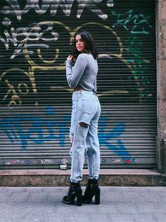 Street style look Bruna Marquezine