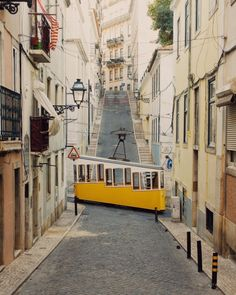 Tramway Car - Lisbon, Portugal - c. Visit Portugal, Portugal Travel, Voyage Europe, Tramway, Most Beautiful Cities, Sunshine State, Months In A Year, Luxury Travel, Travel Photos