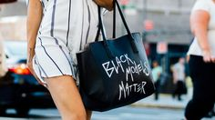 How 'Black Models Matter' Became More Than A Viral Street Style Message. Ashley B. Chew explains how a frustrating casting experience led her to create the bag and why she doesn't want it to become a trend.   http://fashionista.com/2016/02/black-models-matter