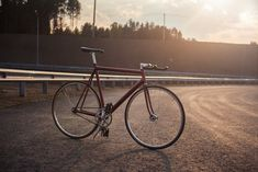 Custom Red Cannondale Track '92  so hooot